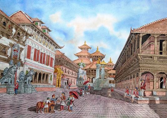 Bhaktapur Durbar sq.